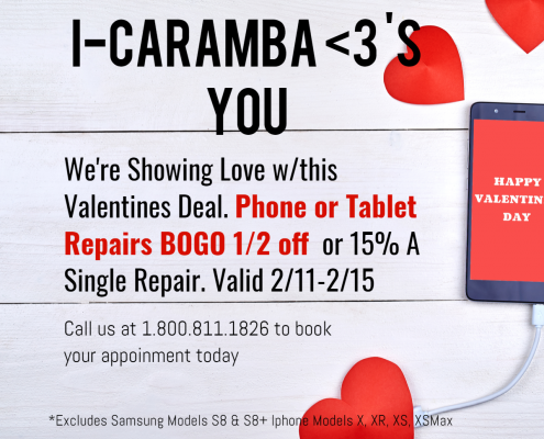 Valentines Day Sale at i-Caramba